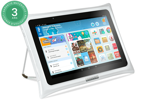 tablette sqool 3 ans